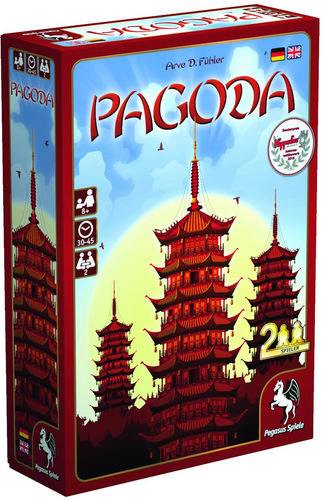 Vorderseite von Pagoda