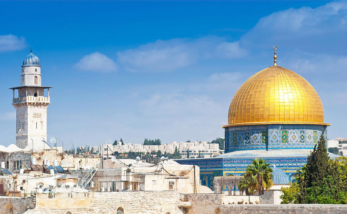 Tempelberg in Jerusalem, Israel