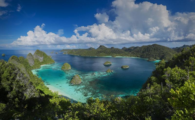 Raja Ampat Archipel vor Papua-Neuguinea