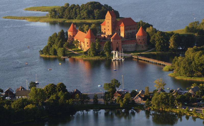Beste Reisezeit und Klima für Litauen