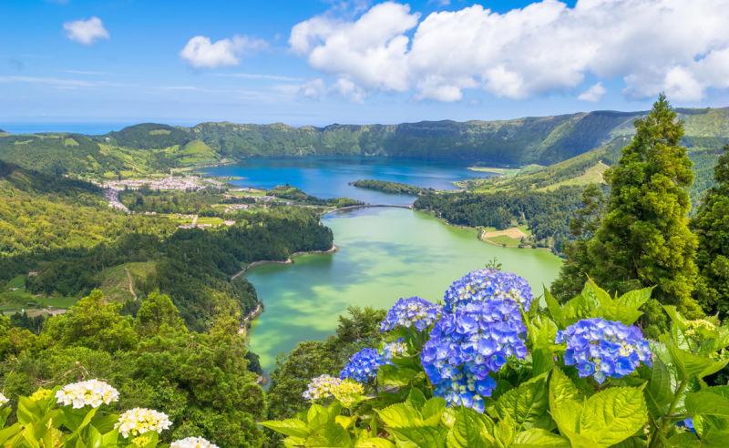 Lagoa das Sete Cidades auf den Azoren