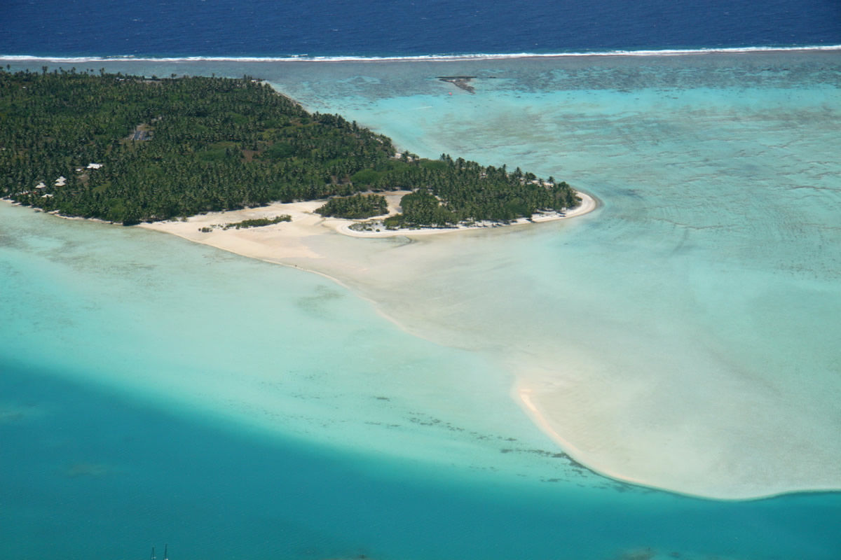 Strand auf Maupiti