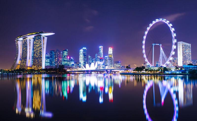 Beste Reisezeit und Klima für Singapur