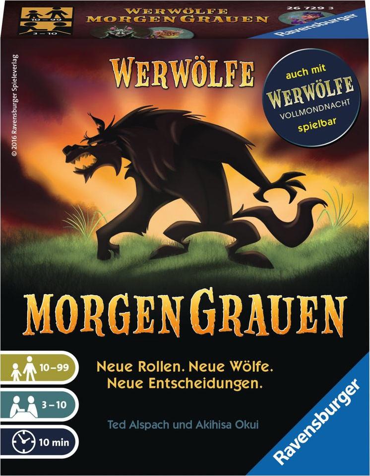Spielecover von Werwölfe – Morgengrauen