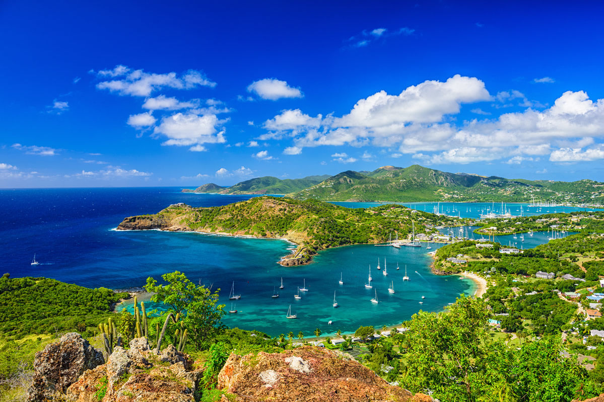 Blick von Shirley Heights in Antigua