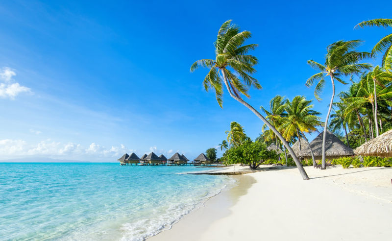 Traumstrand auf den Cookinseln