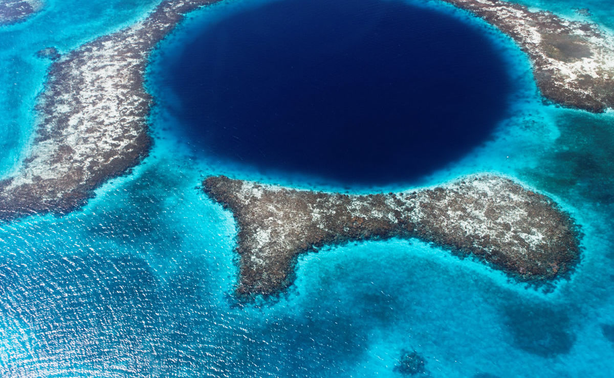 Great Blue Hole von Belize