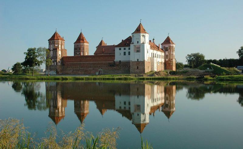 Wasserschloss Mir in Weißrussland