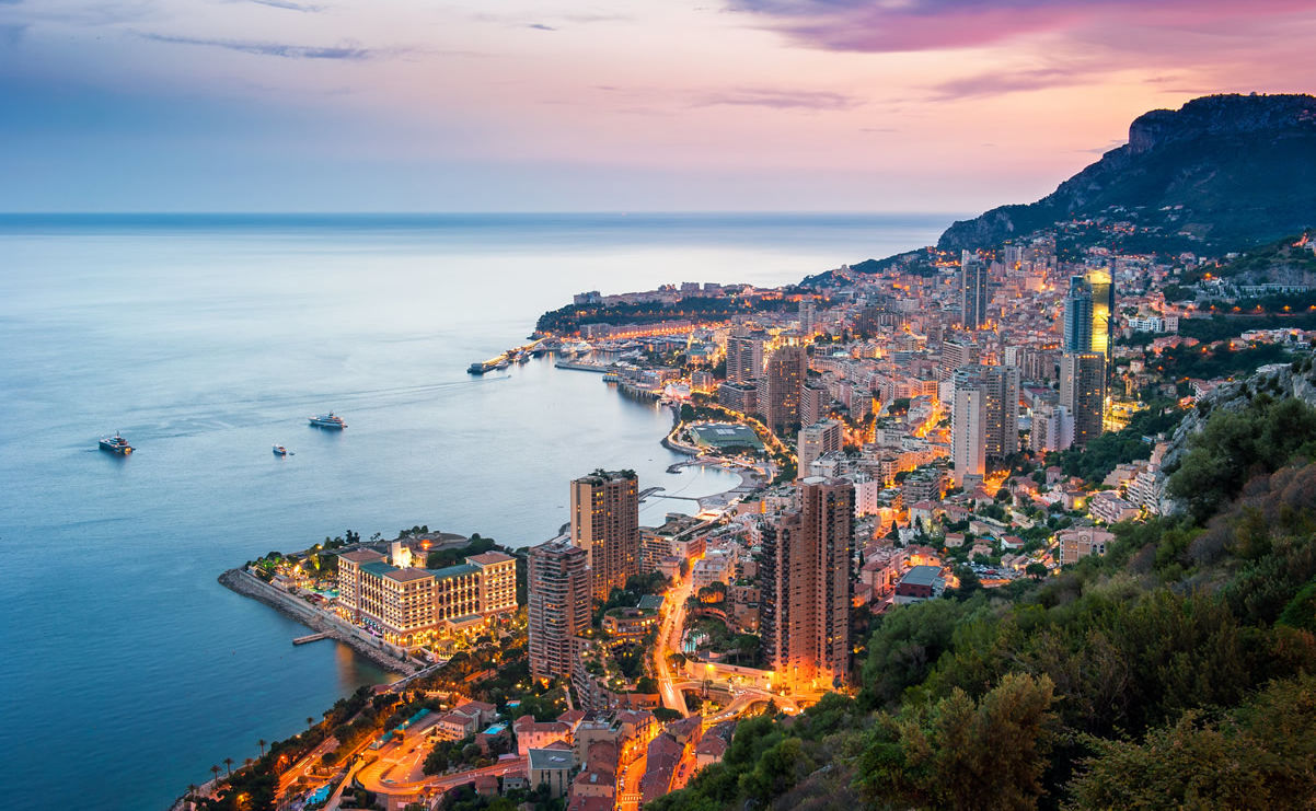 Monte Carlo nach Sonnenuntergang