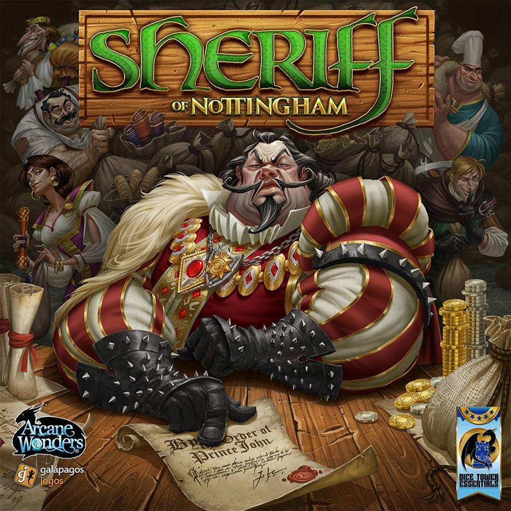 Spielecover von Sheriff of Nottingham