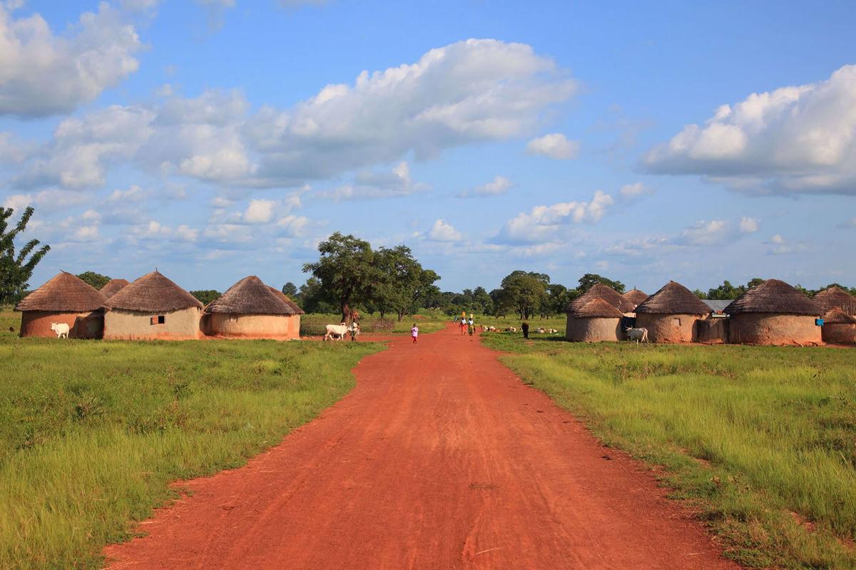 Dorf in Burkina Faso