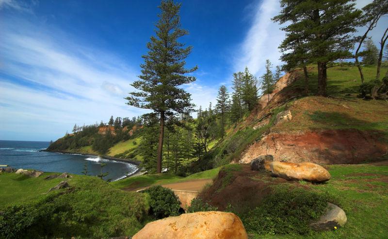 Beste Reisezeit und Klima für die Norfolkinsel