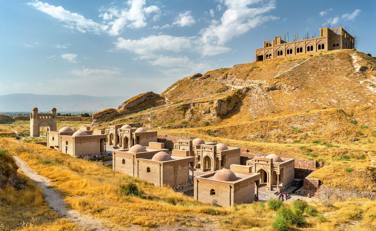 Festung von Hissor in Tadschikistan