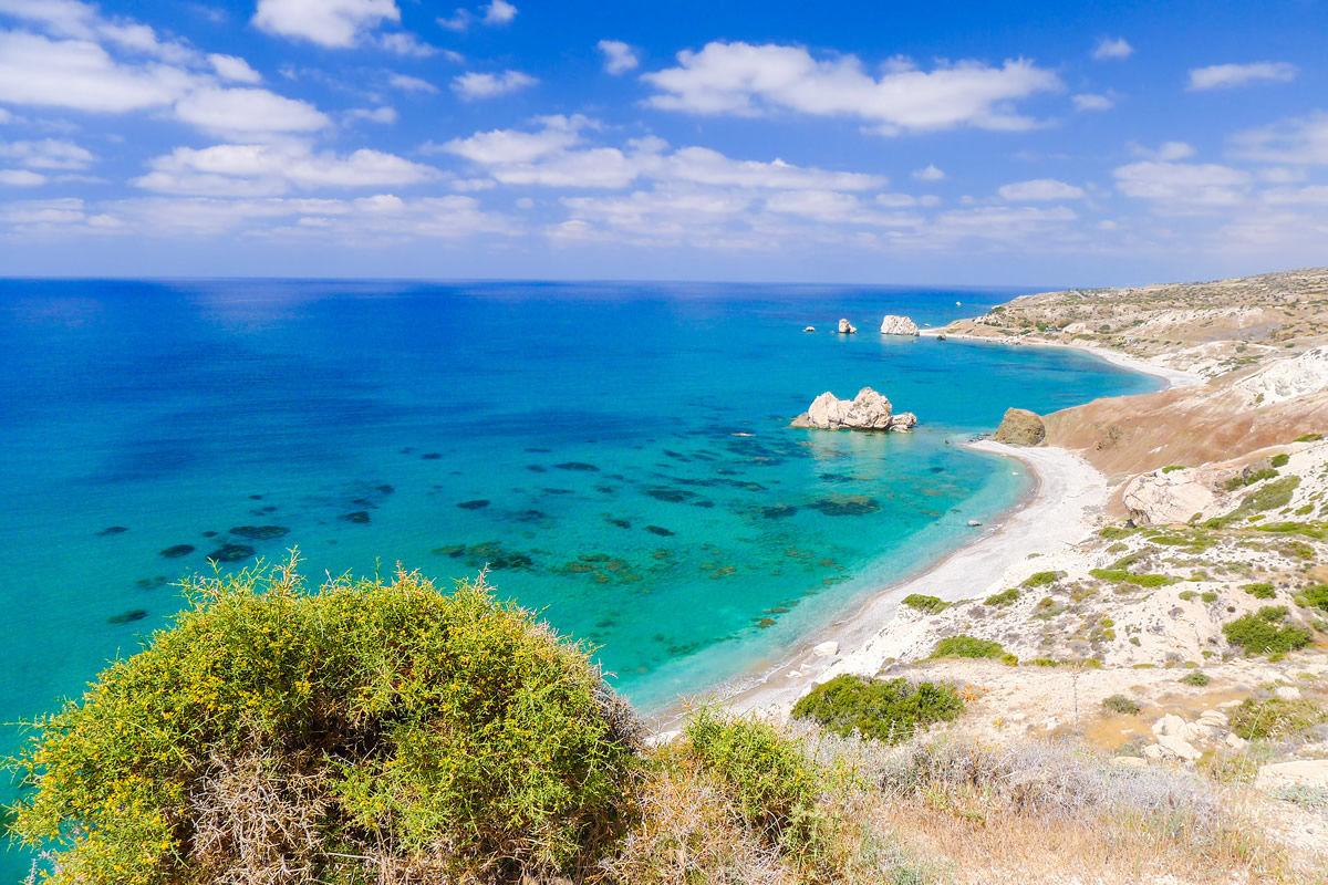 Aphrodite-Felsen auf Zypern