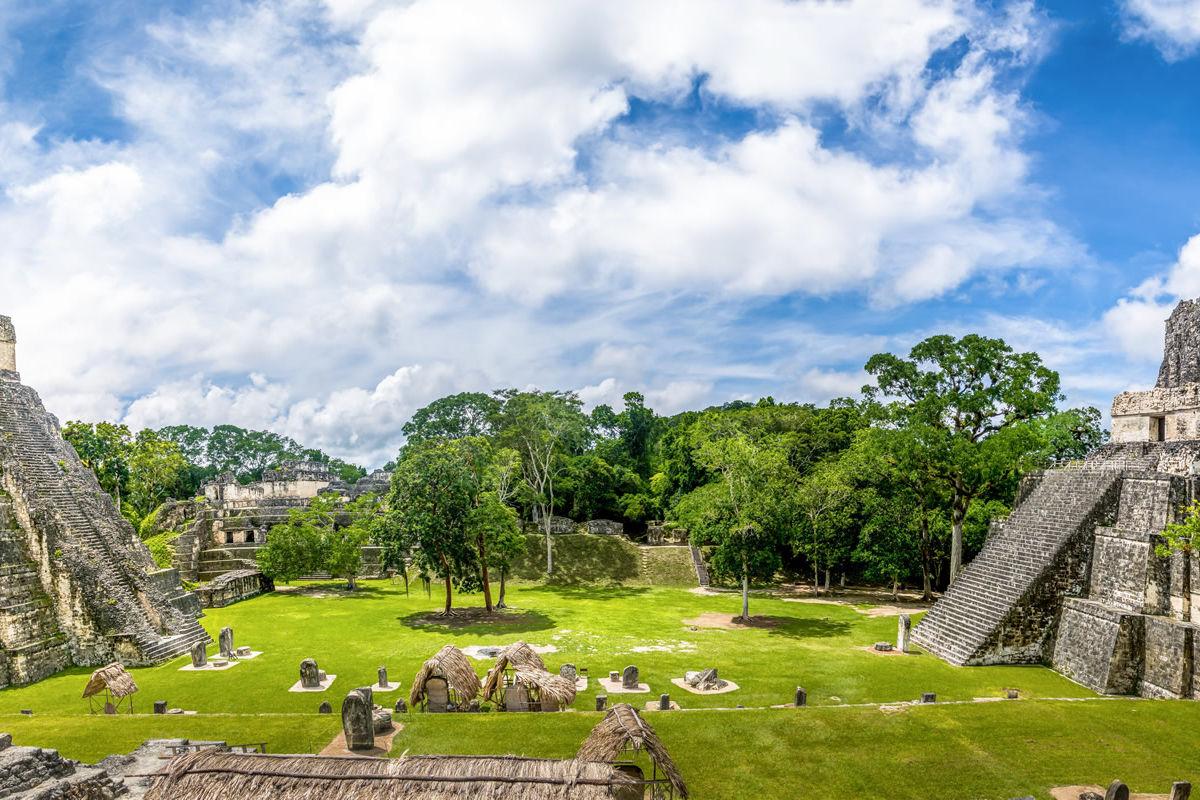 Mayatempel im Nationalpark Tikal in Guatemala