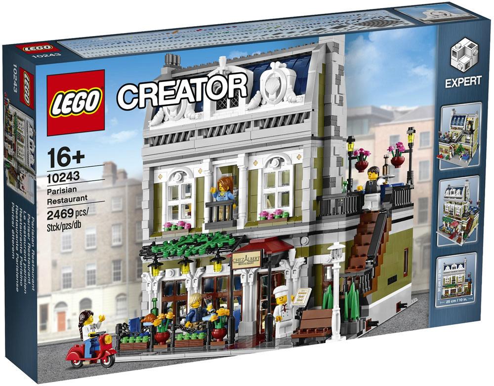 LEGO 10243 - Pariser Restaurant