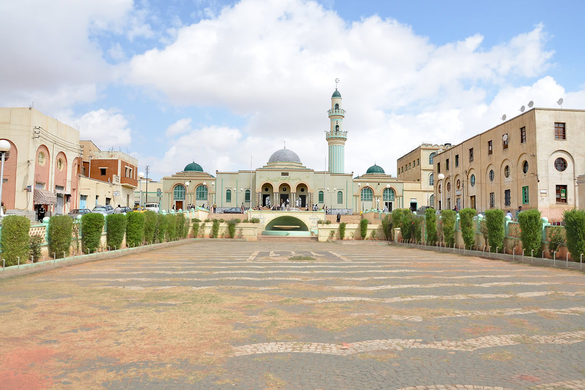 Große Moschee von Asmara in Eritrea
