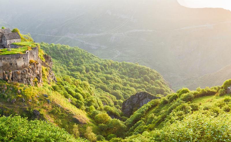 Kloster Tatew im Süden von Armenien