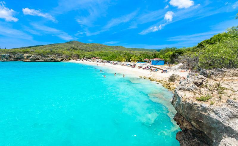 Grote Knip Strand auf der tropischen Karibikinsel Curaçao