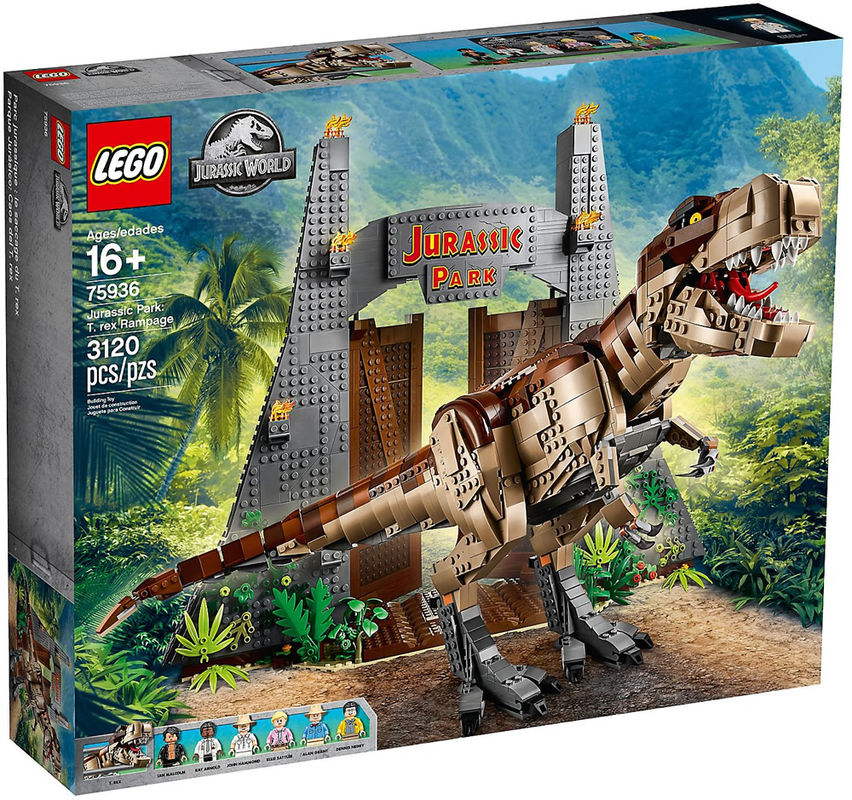 LEGO 75936 - Jurassic Park: T. Rex' Verwüstung