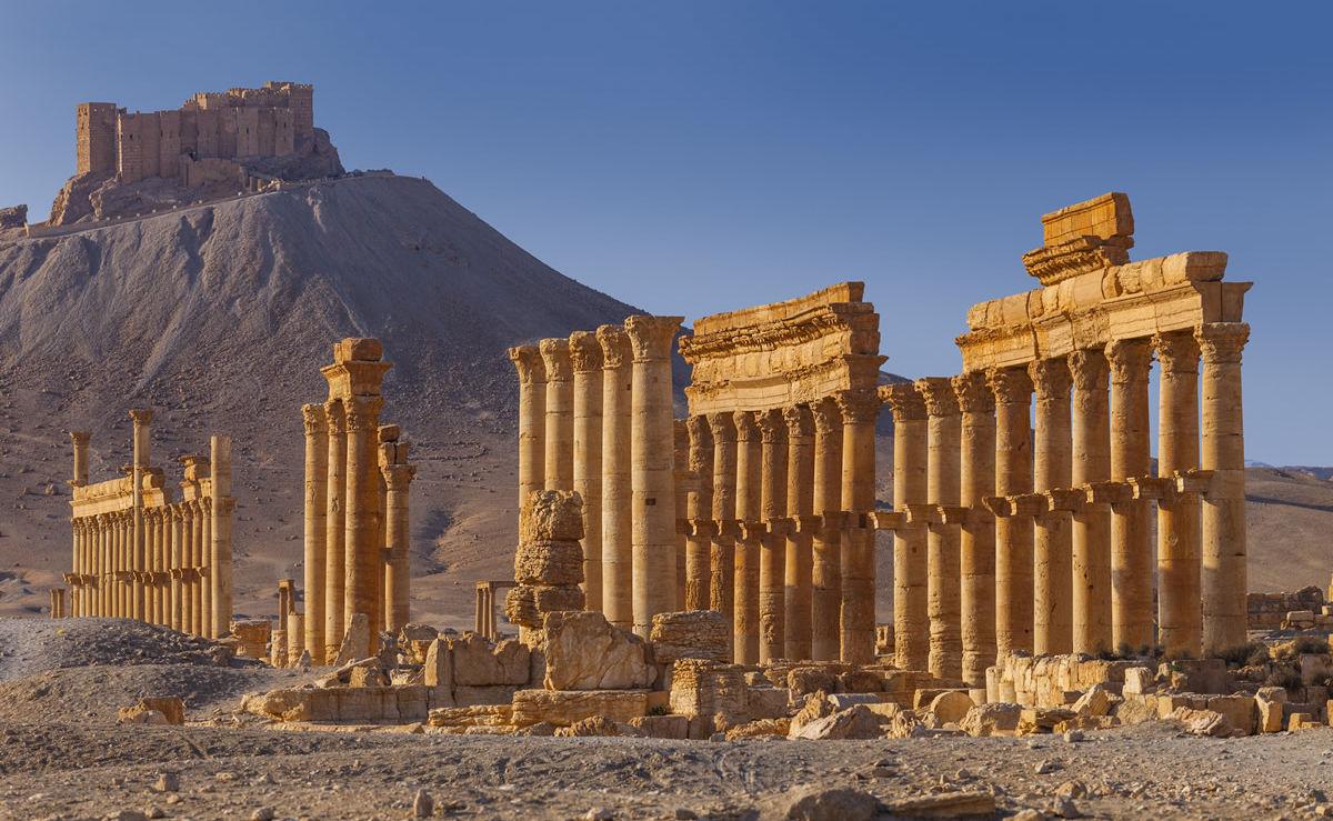 Tempel in Palmyra, Syrien