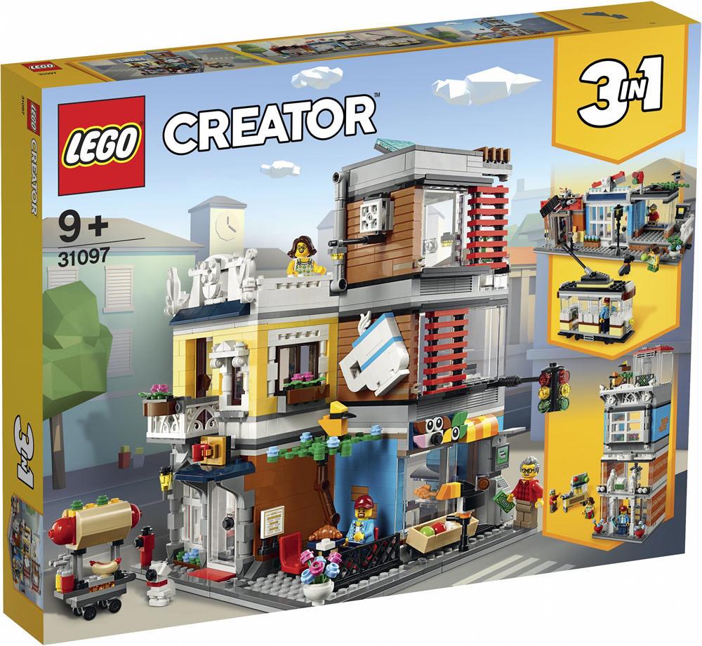 LEGO 31097 - Stadthaus mit Zoohandlung & Café
