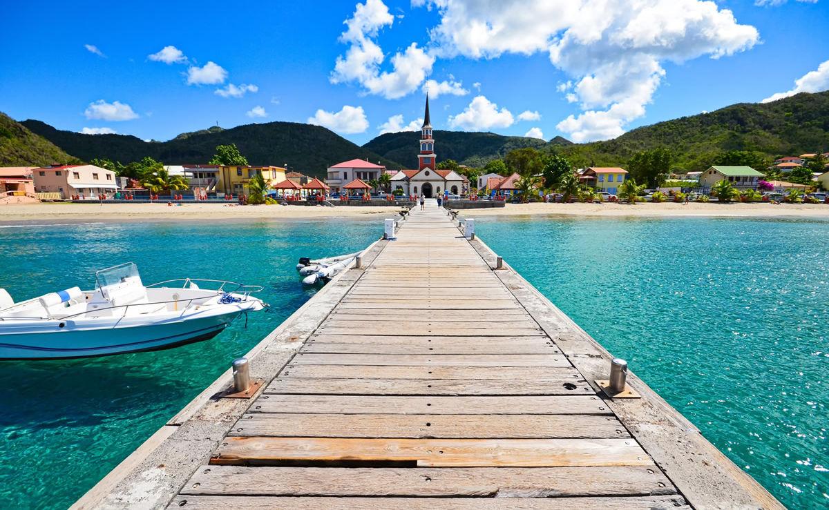 Bucht von Arlet auf Martinique