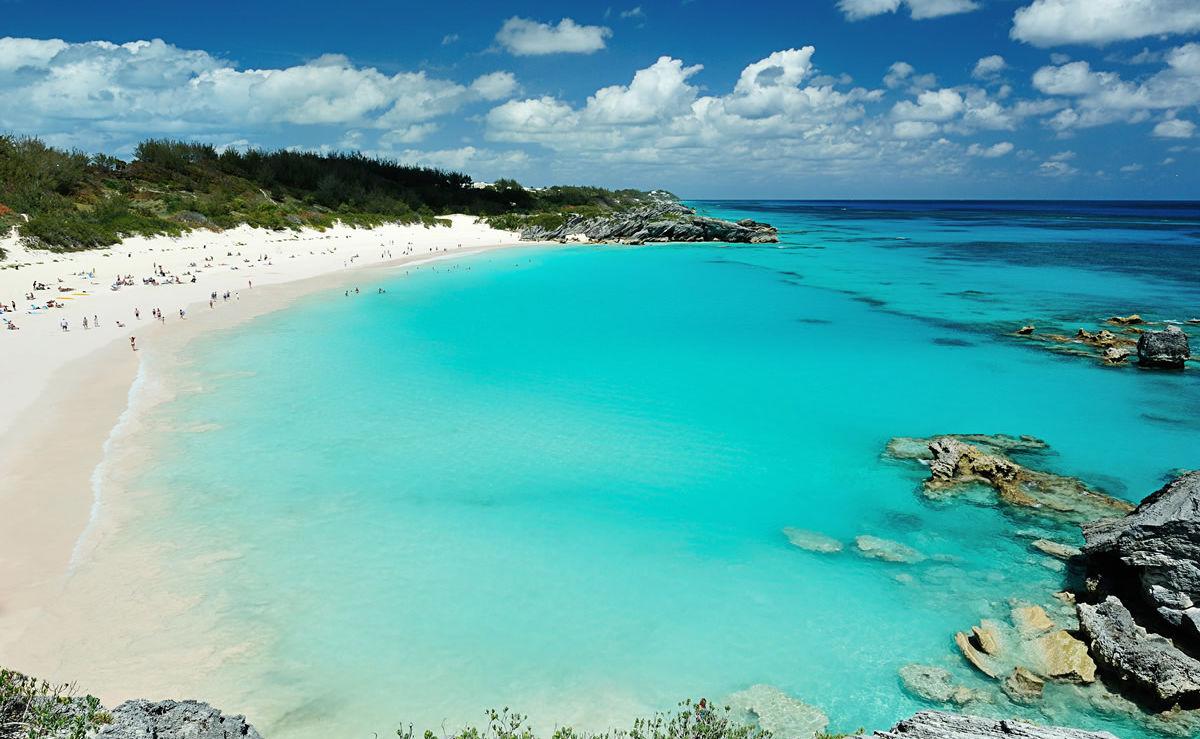 Pink Sand Beach auf Bermuda