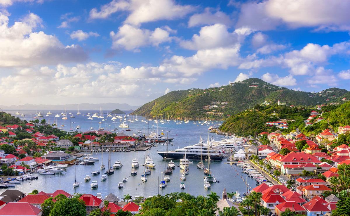 Hafen von Gustavia auf St. Barth