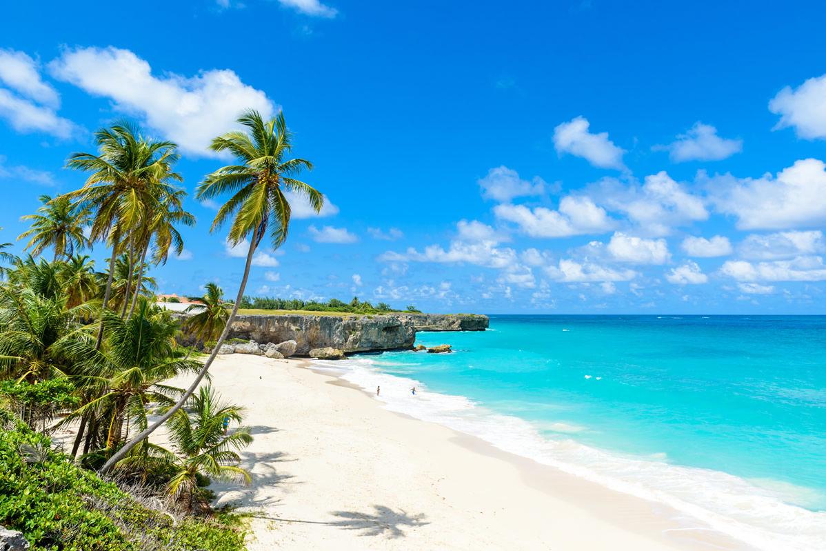 Strand von Bottom Bay auf Barbados