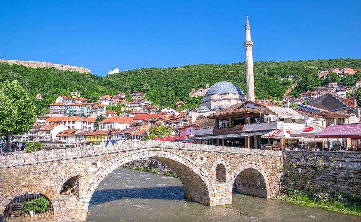 Prizren im südlichen Teil des Kosovo