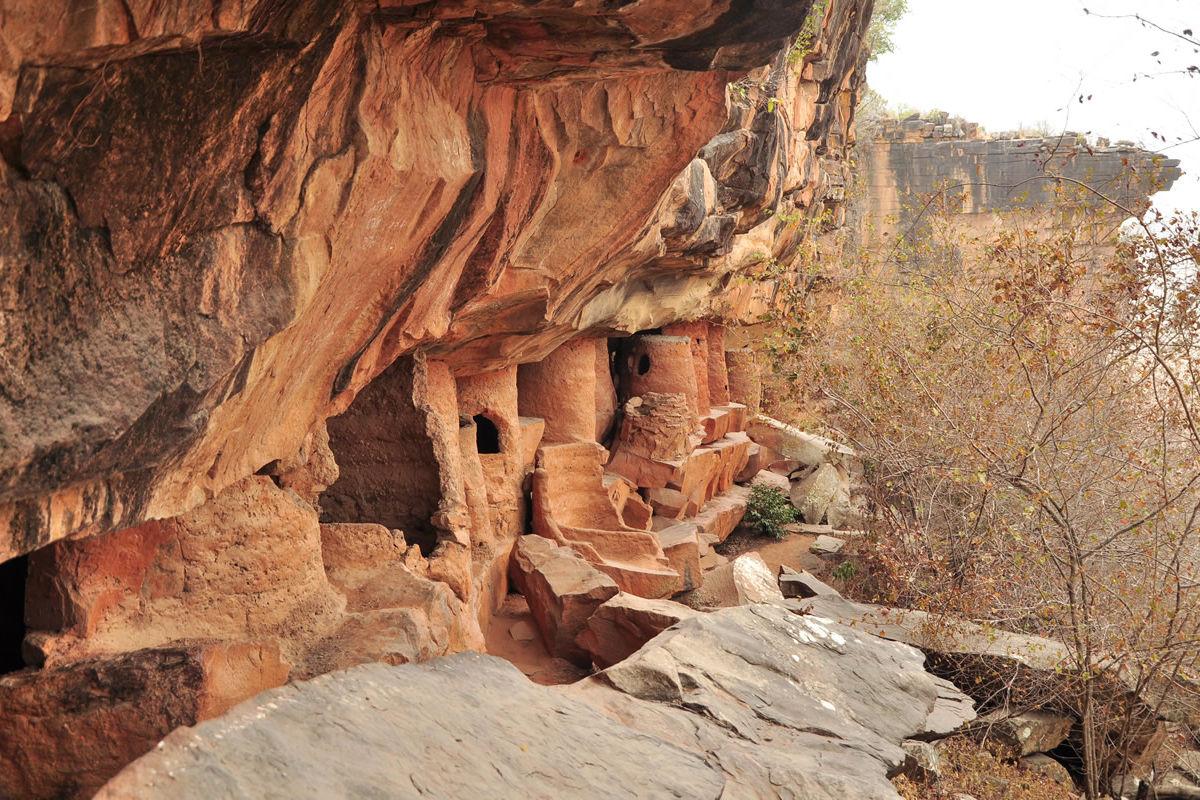 Grottes De Nok im Norden von Togo
